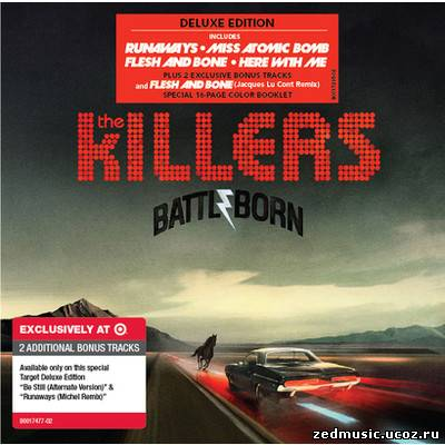 скачать The Killers - Battle Born (Target Deluxe Edition) (2012) бесплатно