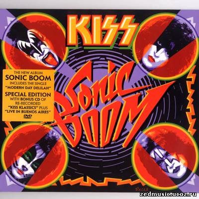 скачать Kiss - Sonic Boom + Bonus CD (2009) бесплатно