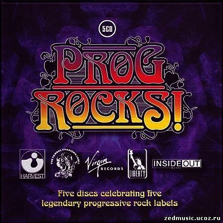 скачать Prog Rocks! Five Discs Celebrating Five Legendary Progressive Rock Labels (2013) бесплатно