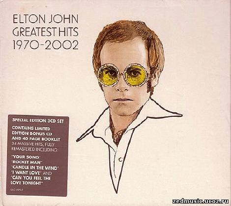 скачать Elton John - Greatest Hits 1970-2002 (3CD) FLAC бесплатно